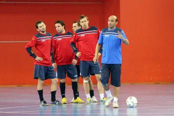 Fotogalerie z tréninku národního týmu