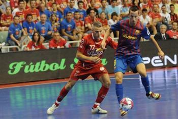 Barcelona se včera stala mistrem Španělska