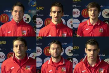 Reprezentanti vzkazují: Sledujte náš zápas s Chorvatskem!