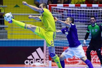Futsalové MS 2016 vidělo první souboj titánů