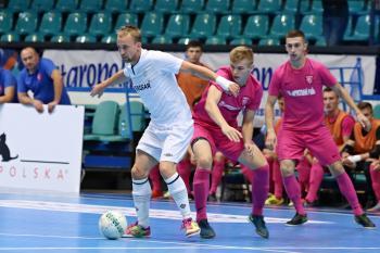 Chrudim na turnaji Futsal Masters porazila ukrajinský Sokol