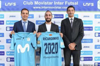 Ricardinho se upsal Interu Movistar do roku 2020