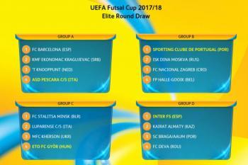 Futsalová Liga mistrů byla rozlosována