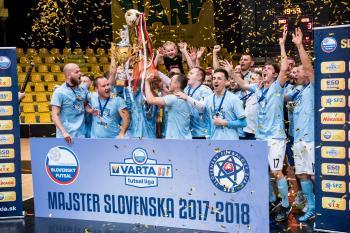 Na Slovensku mistrem Slovan Bratislava