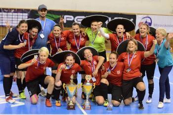 Tequilky Chlebičov vyhrály futsalový titul!