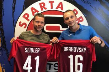 Drahovský a Seidler posilami pražské Sparty!