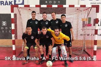 Slavia je z poháru venku, vyřadili ji WarriorS