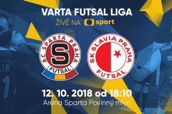 Dnes na pražské derby, slibuje špičkový futsal