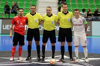 Ondřej Černý řídí utkání Ligy mistrů v Lisabonu