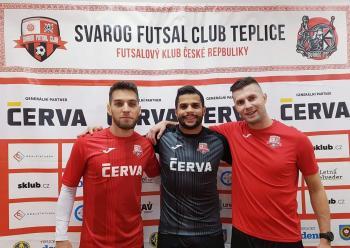 Tři hráči posílí Svarog, jedním z nich je Rodrigo