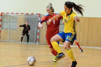 Ženská repre v pěkném utkání Švédkám podlehla