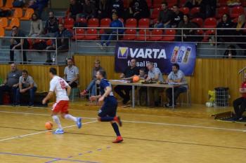 Ve čtvrtek čeká VARTA futsal ligu další TV zápas