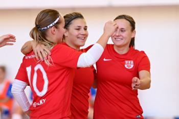 Tequilky Chlebičov mistrem ČR ve futsalu žen